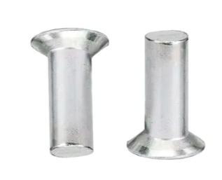 countersunk rivet පැතලි හිස solid න රිවට්